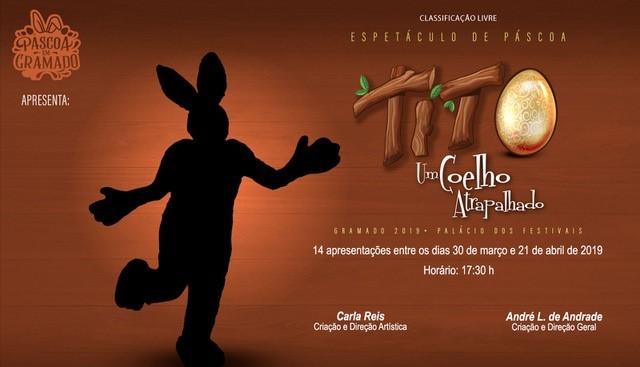 Tito, um coelho atrapalhado