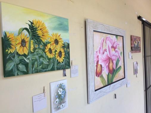Exposição de Pintura em Tela Centro de Cultura Várzea Grande