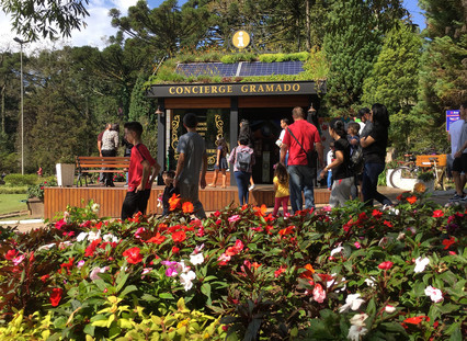 Modelo inédito de espaço urbano atende turistas e moradores em Gramado