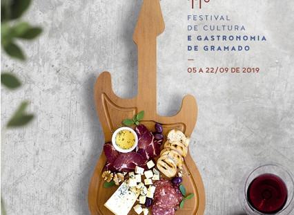 Campanha do 11º Festival de Cultura e Gastronomia de Gramado é inspirada no Chile