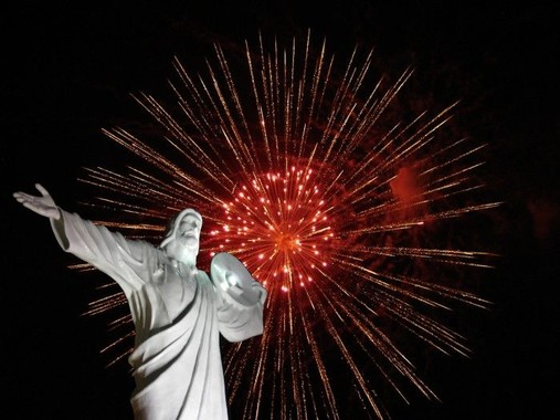 Cristo Luz Noite