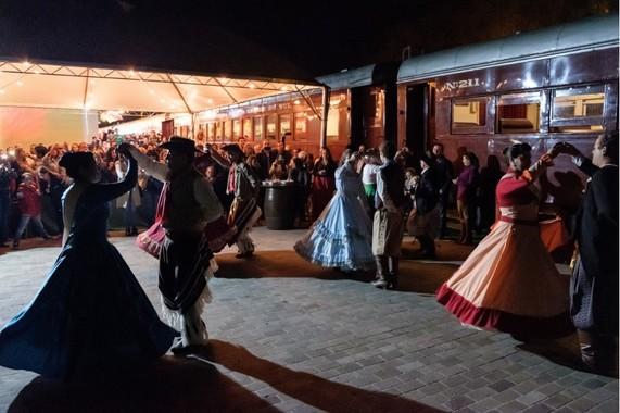 Noite Gaúcha na Maria Fumaça